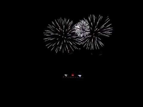 Pyronale Berlin 10.09.2016 die Zusatz Feuershow von Rumänien- dem Gewinnerland