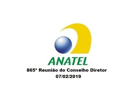 865ª Reunião do Conselho Diretor, de 07/02/2019