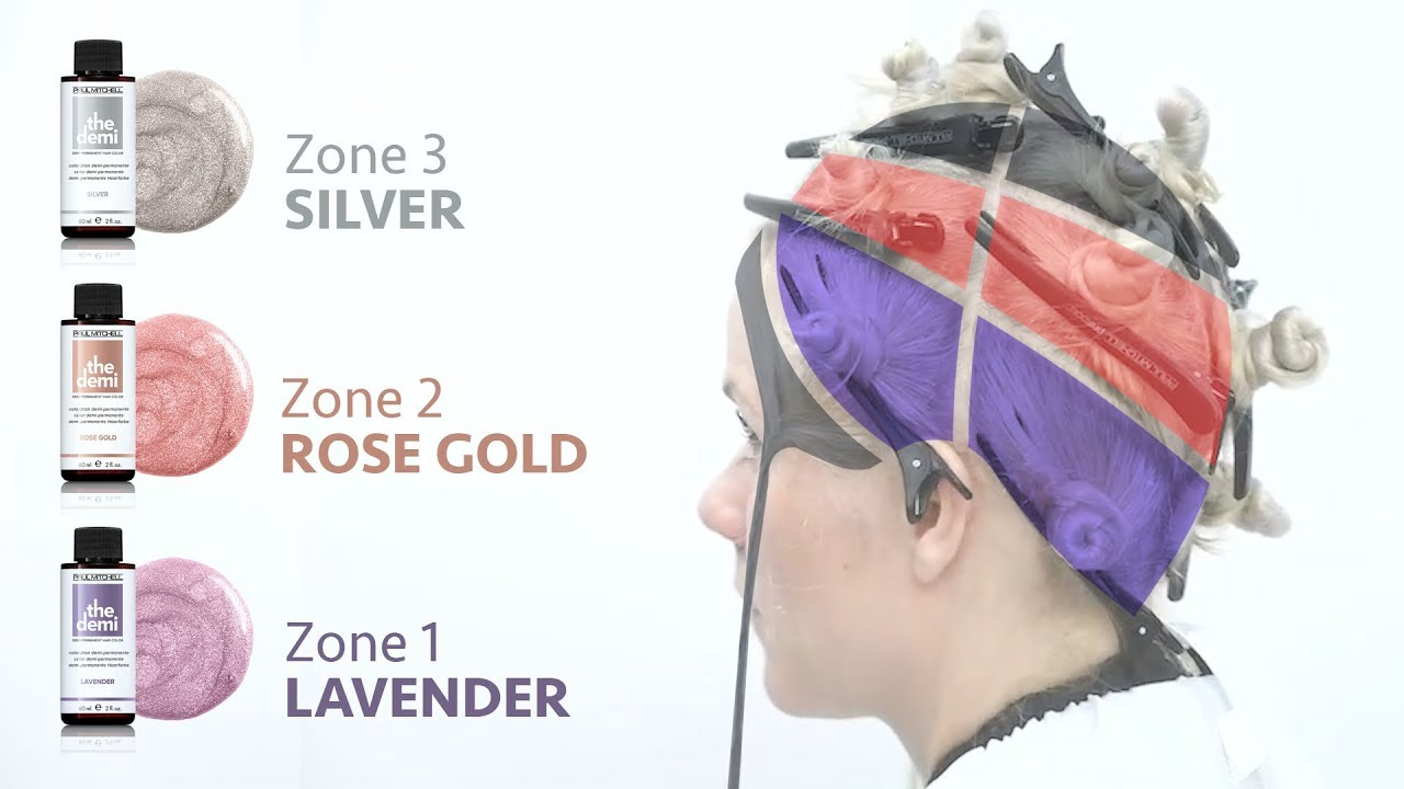 Zone Toning Hair Tutorial A Creative Way To Tone Blonde Hair