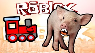 Roblox: RAN OVER BY A TRAIN!! | The Normal Elevator