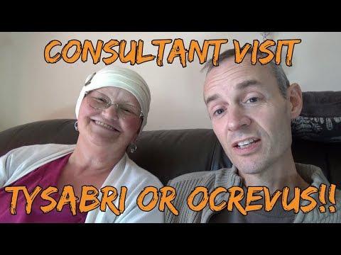 Consultant Visit | Aggressive MS | Tysabri Ocrevus | JC Virus and PML