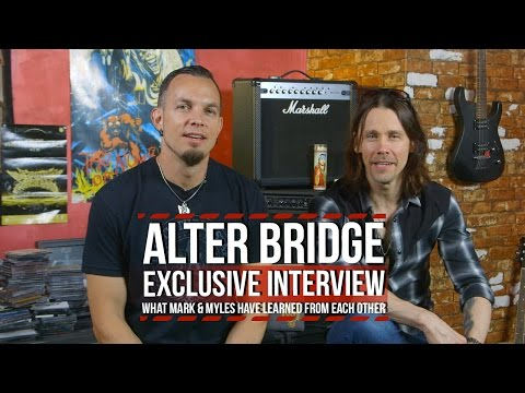 Alter Bridge Myles Kennedy + Mark Tremonti on What They've Learned From Each Other