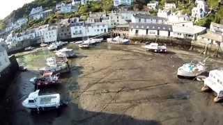 Cornish coast.... 2013 tricopter - St Austell Beach & Polperro Harbour