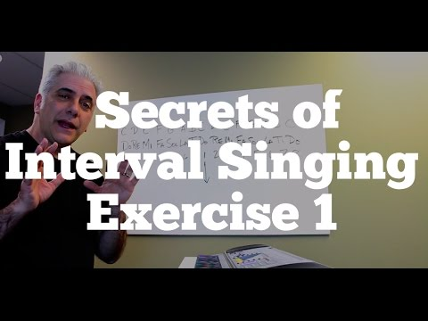 Ear Training: Secrets of Interval Singing Exercise 1