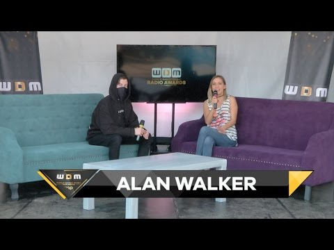 Entrevista con Alan Walker WDM Radio Awards