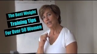 what every over 50 woman needs to know about weight training