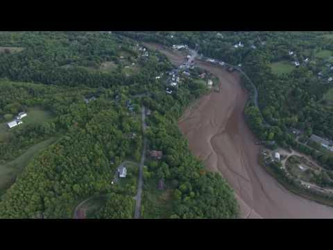 Bear River, Nova Scotia - Phantom 3 Professional