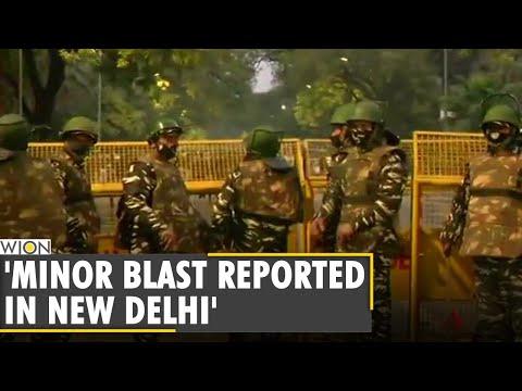 Minor Blast Reported Near Israeli Embassy In Delhi, 4-5 Cars Damaged: Police | Breaking News | WION