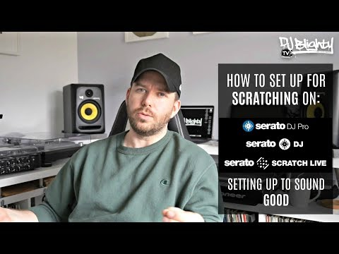 HOW TO SET UP FOR SCRATCHING ON SERATO DJ // SCRATCH LIVE Mp3