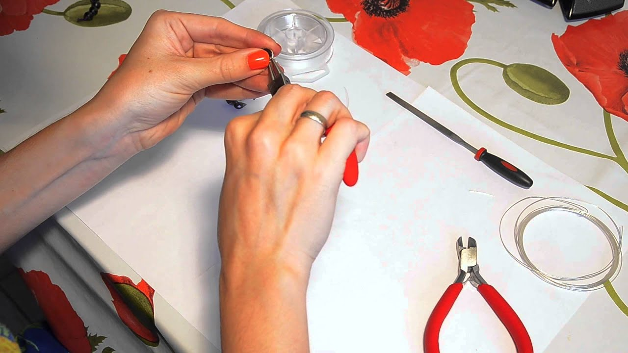 Как сделать гвоздики серьги своими руками