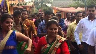 Timli dance in sagar and archana's wedding....