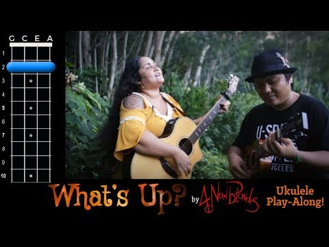Whats Up? 4 Non Blondes Ukulele Play Along!