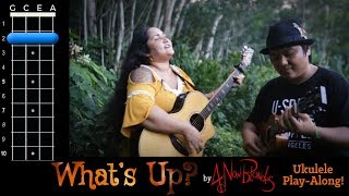 """What's Up?"" (4 Non Blondes) Ukulele Play Along!"