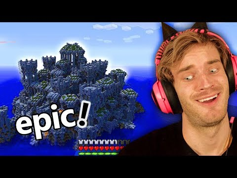 I FOUND an OCEAN TEMPLE in Minecraft! (epic) - Part 11
