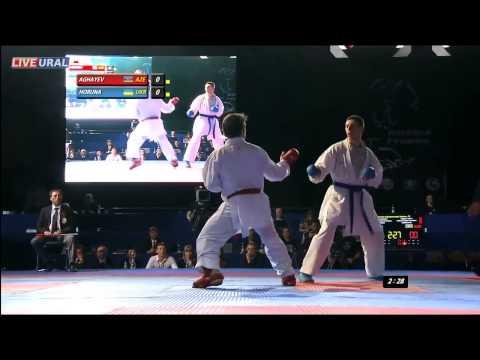 Рафаель Агаев (AZE) / Станистав Горуна (UKR) Золотая медаль Karate1 Премьер-лиги, Тюмень 2013
