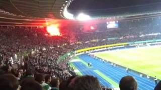 Rapid Besiktas UEFA Europa League 30.09.2010 Türken übertreiben
