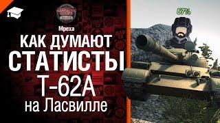 Как думают статисты: №4 Т-62А на Ласвилле - от Mpexa [World of Tanks]