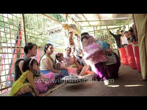 Festival time in Manipur, India: time for gifts