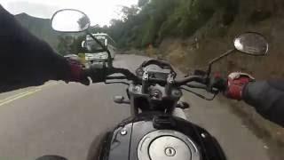"Cruzando "" La Linea "" - Yamaha Fz16"