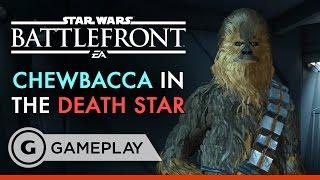 Chewbacca Smash!! - Star Wars Battlefront: Death Star DLC Gameplay