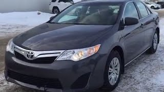 2014 Toyota Camry LE Review