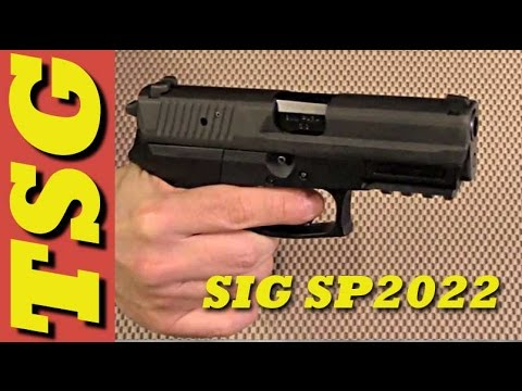 SIG SP2022 unbox and specs