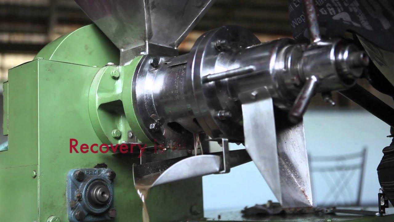 coconut milk pressing machine