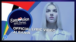 Arilena Ara - Fall From The Sky - Albania 🇦🇱 - Official Lyric Video - Eurovision 2020