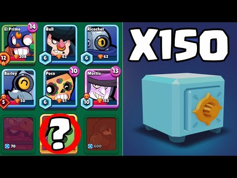 OPENING X150 BRAWL BOXES :: Brawl Stars :: WILL I FINALLY GET A LEGENDARY THIS TIME?