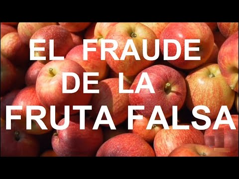 El FRAUDE de la FRUTA FALSA  | Documental