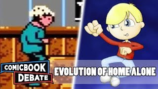 Evolution of Home Alone Games in 3 Minutes (2018)