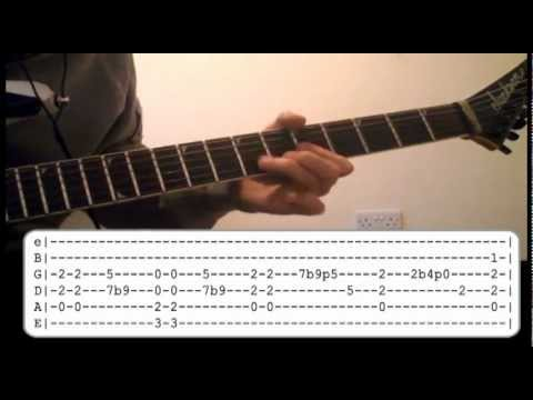 Little Black Submarines Solo Lesson - The Black Keys