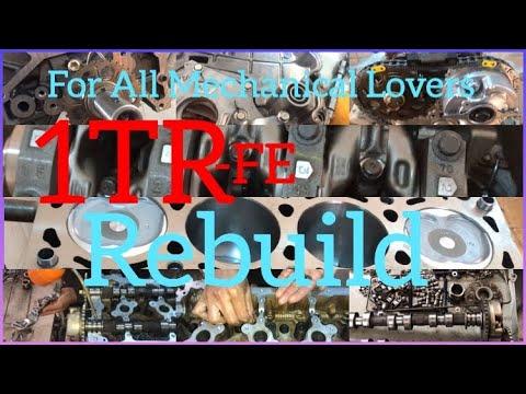 1TR Engine Rebuilding✅Of Toyota Hilux