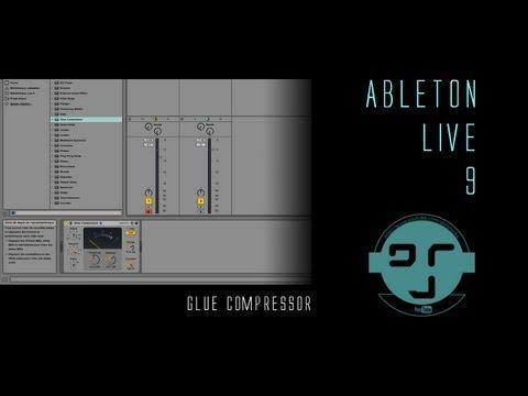 Ableton Live 9: Glue Compressor