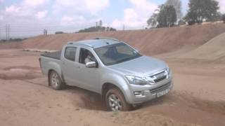 Isuzu KB off road at Kyalami