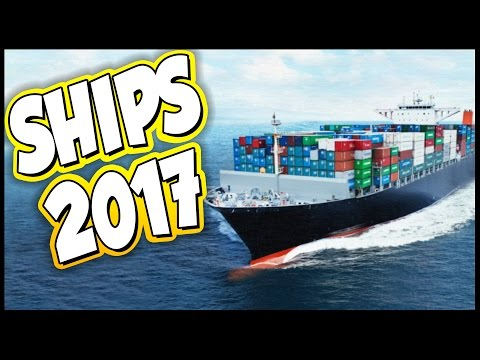 Ships 2017 ➤ Massive Ships - Container Ship [Ships 2017 Gameplay]