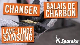 Comment remplacer les balais de charbon moteur sur votre lave linge SAMSUNG