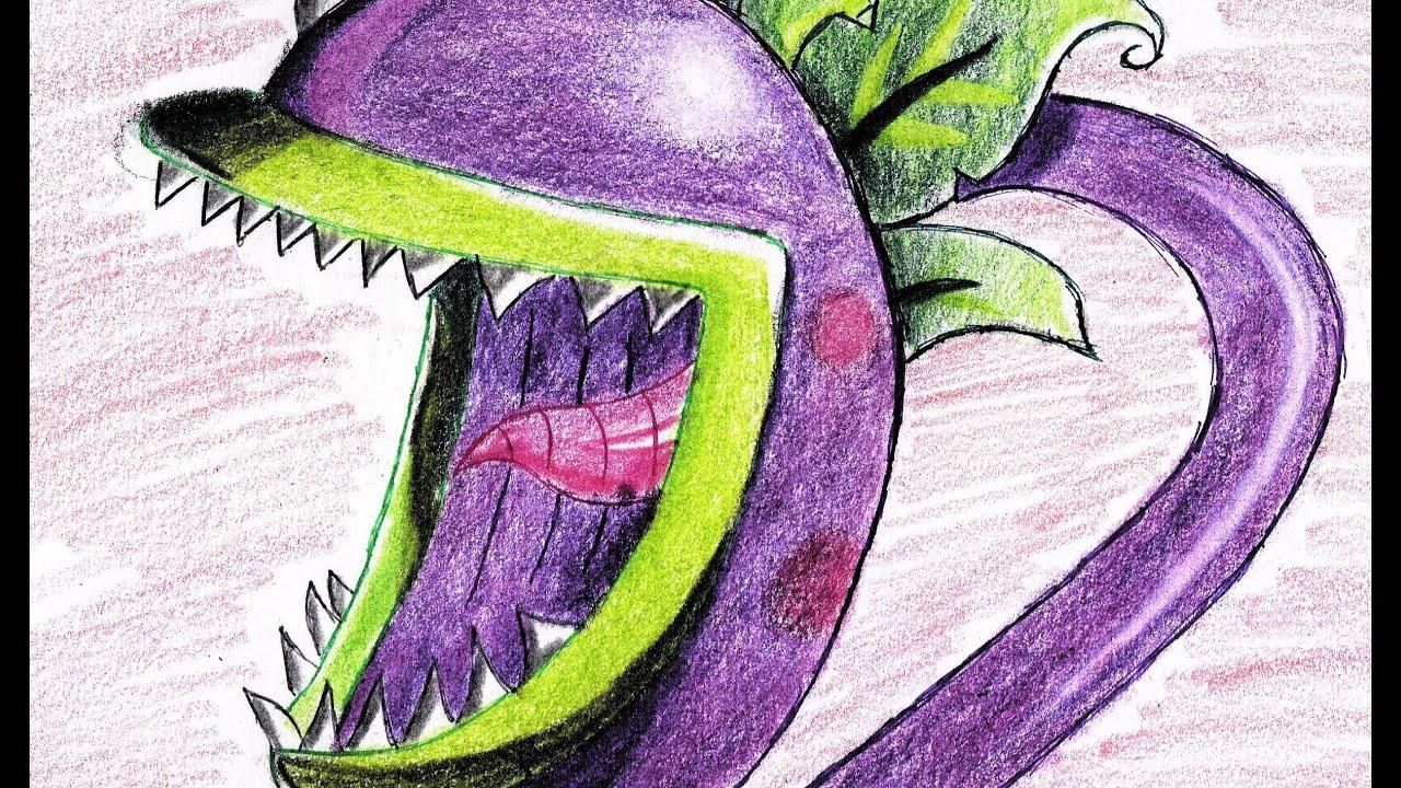 Dibujos Para Colorear De Plantas vs Zombies