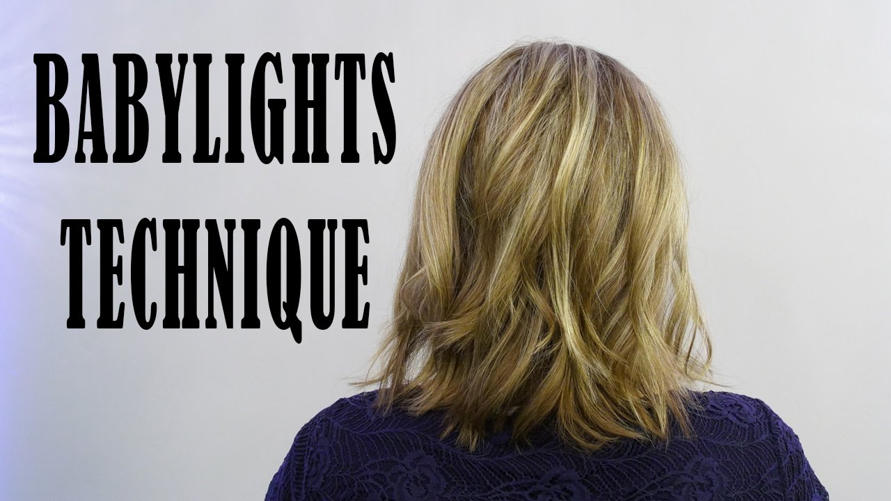 Babylights With Redken Blonde Idol Amp Olaplex Youtube