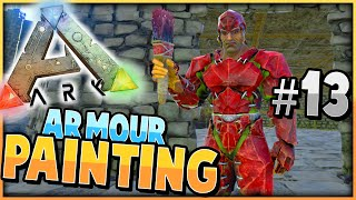ARK: Survival Evolved | PAINTING ARMOUR DINO'S | S2 Ep 13 |