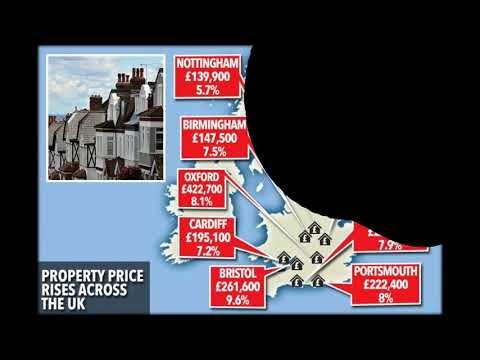 Where house prices will grow fastest - and London is last