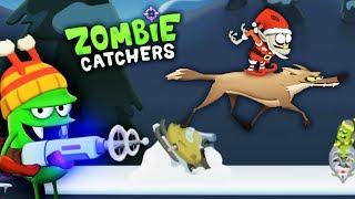 Zombie Catchers ОХОТА на ЗОМБИ ЭЛЬФА Мульт игра для детей ЛОВЦЫ ЗОМБИ