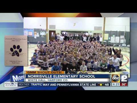 Norrisville Elementary School gives a Good Morning Maryland shout-out