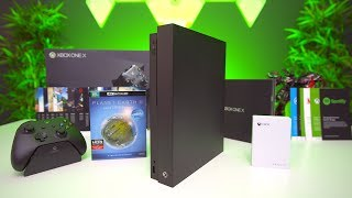 My MASSIVE Xbox One X Unboxing!