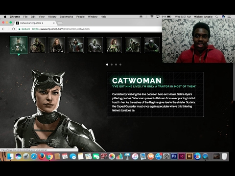 INJUSTICE 2 CHARACTER BIO BREAKDOWN!!! AND UPDATE!!!