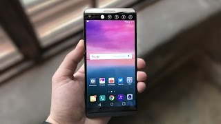 Первый обзор LG V20
