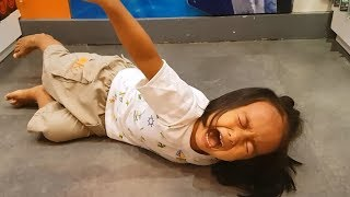 Baby with Tantrum Crying for All Toys in the Toy Store - Donna The Explorer
