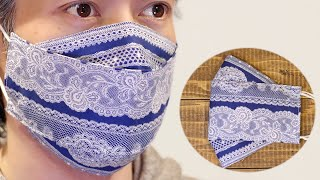 New Style ORIGAMI MASK DIY 3D Face Mask Making Ideas Relieve Hay Fever No Fog On Glasses