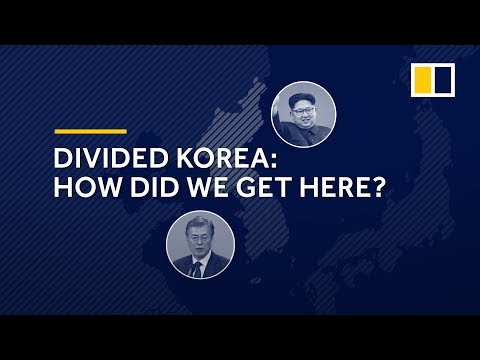 How did North and South Korea become divided?