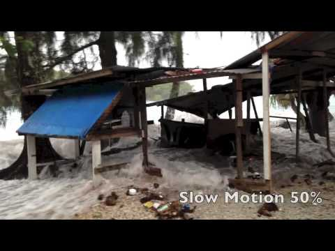 King tides swamp Marshall Islands